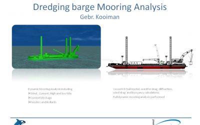Dredging Barge Mooring Analysis