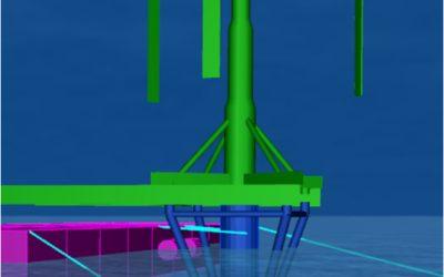 Vertiwind and Hywind Turbine Mating Analysis