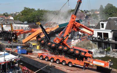 Alphen a/d Rijn crane accident