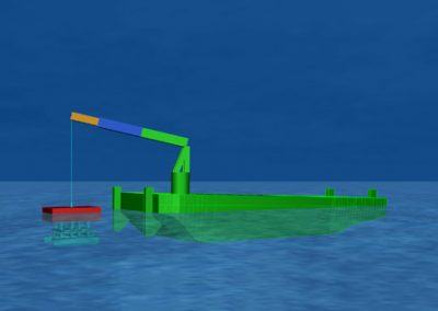 OWF Norther Offshore Wind Farm – Trencher launch and recovery