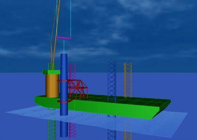Lift Analysis – OWF Deutsch Bucht – Gripper Frame Seajack Scylla